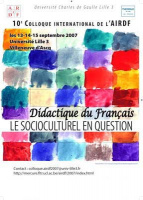 2007 | Le socioculturel en question